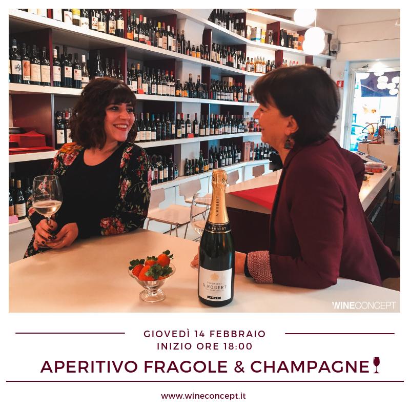 Aperitivo Fragole & Champagne