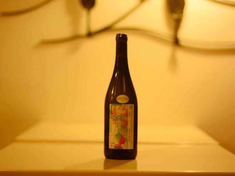 Vin de France Sauvignon Surin Bio - Domaine de Pontcher- Bruno Allion